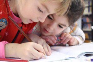 نوشتن کودک
