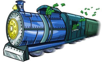 قطار سرمایه گذاری