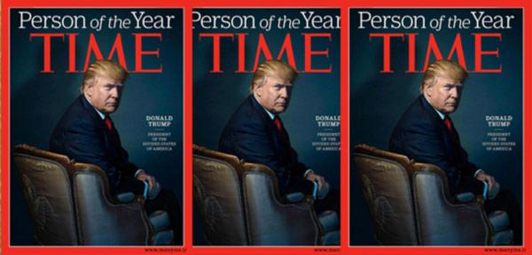 آیا دونالد ترامپ در مجله تایم یک پیام پنهان را مخفی کرده است؟
