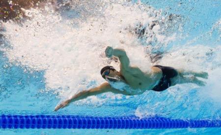 شناگر حرفه ای