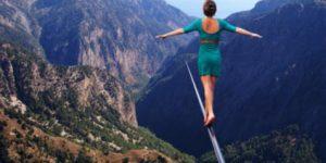 راه رفتن روی طناب